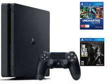 SONY PLAYSTATION 4 PS4 1TB With 2 Game+ LATEST SLIM VERSION+ 1Yr SONY Ind Warra