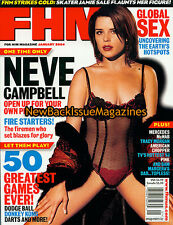 FHM 1/04,Neve Campbell,Tracy Morgan,January 2004,NEW