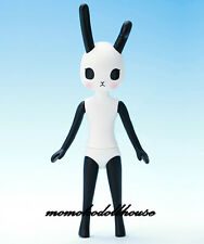 Petworks Usagii rabbit figure Usaggie Nude 023 Black and White