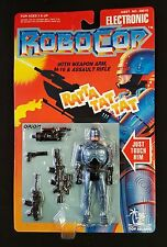 "1993 Toy Island ELECTRONIC ROBOCOP ""With Weapon Arm & M-16 & Rifle"" Figure MOC"
