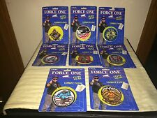 ERTL Force One Flite Gear Combat Patches NIP - 8 Different Patches