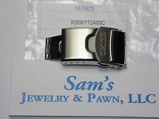 Seiko 20mm Clasp Super Oyster-Jubilee Double Push Button w/Flip Lock K06W11SA00C
