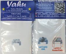 Yahu Models YMA7282 1/72 PE LaGG-3 & La-5 early Instrument Panel AML Roden