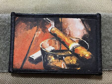 Cigar Lounge Morale Patch Tactical Mil-spec Cohiba Monte Cristo Drew Estate
