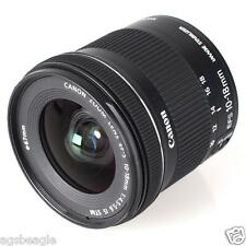 Canon EF-S 10-18mm F/4.5-5.6 IS STM Lens  Brand New With Shop Agsbeagle