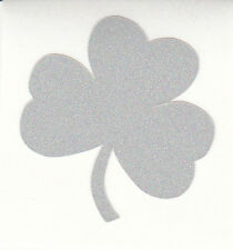 Notre Dame Fighting Irish shamrock 1.5 inch reflective fire helmet decal sticker