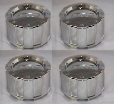 SET OF 4 AMERICAN EAGLE ALLOYS ACC 3226 06 CHROME WHEEL RIM CENTER CAP SNAP IN