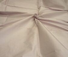"`LILAC` PURE SILK FABRIC TAFFETA DUPION HEAVY 54"" WIDE PRICED BY HALF METRE"