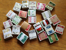west Germany bundespost 24 diff bundles of 100 stamps 2400 total bundleware