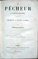 1861 DE MASSAS, LE PECHEUR A LA MOUCHE ARTIFICIELLE – PESCA A MOSCA FLY FISHING