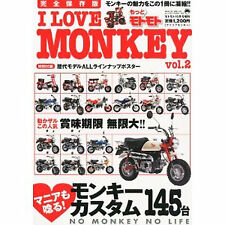 BIKE JAPANESE tuning Book Bicycle Honda HONDA Monkey JP 6
