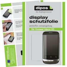 1x Huawei Ideos X3  Schutzfolie matt Displayschutzfolie Antireflex