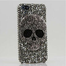 Gray Skull Rhinestone Crystal Case cover for Apple iphone7 PLUS 5.5'  E5209