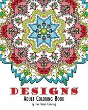 Adult Coloring Book Designs, New, Free Shipping