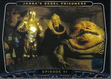 STAR WARS 30TH ANNIVERSARY BLUE PARALLEL CARD 28
