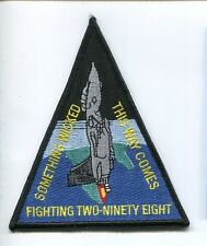 VF-101 GRIM REAPERS CREW CLASS 02 98 US NAVY GRUMMAN F-14 TOMCAT Squadron Patch