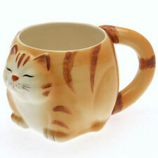 1x Japanese Really BIG Yellow Tabby  Mug #113-161