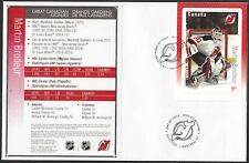 CANADA # 2878 - MARTIN BRODEUR HOCKEY CARD STAMP ON FIRST DAY COVER ONLY 10 MADE