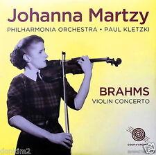 SEALED 180g -JOHANNA MARTZY / Brahms Violin Concerto / UK COUP d'ARCHET COUP 016