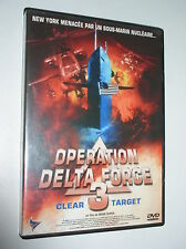 DVD ZONE 2 OPERATION DELTA FORCE 3 CLEAR TARGET DAVID DUKAS NEUF SCELLE