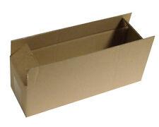 """5 Moving Storage Cardboard Boxes 13.5 x 4 x 4"""" S/W"""