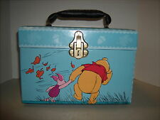 Disney Winning the Pooh Train / Make-up Case with Mirror & Tray
