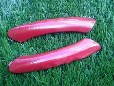 2000-2004 FORD FOCUS HATCHBACK 2DOOR L&R INTERIOR DOOR HANDLE TRIM RED PANTED