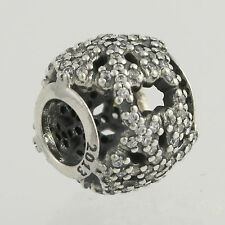 NEW Pandora 2013 Limited Edition Let it Snow Charm - Sterling Silver USB791200