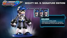 NEW Mighty No. Number 9: Signature Edition (Sony PlayStation 4, 2016)