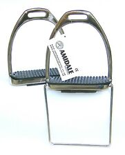 MOUNTING STIRRUP WITH STEP UP BAR-S.STEEL SIZE 4.75 FROM AMIDALE