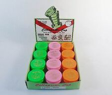Vintage Style Collapsible Drinking Cup w/Pill Box Lid ~ Retail Box of 24 Units