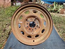 HOT RAT ROD 16 inch artillery wheel #1 MODEL T A FORD CHEVY DODGE PONTIAC