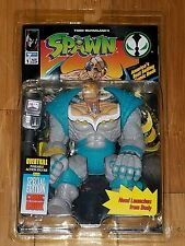 "1994 McFarlane Spawn ""Overtkill"" Action Figure Free Shipping!! With Comic Book"