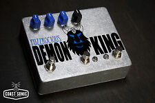 Fuzzrocious Demon King Overdrive with gate boost Effects Pedal Hand Made in USA