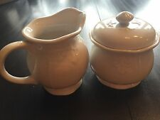 TABLETOPS UNLIMITED Versailles Sugar Bowl & Creamer ~ Nice!