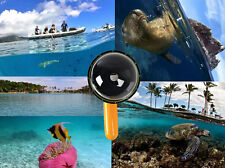 "For GoPro 4/3+/3 6"" Len Diving Underwater Camera Hood Lens Dome Port Cover Shell"