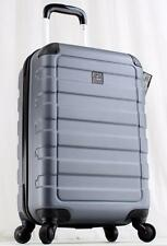 """TAG MATRIX 20"""" HARDSIDE SPINNER CARRY ON SUITCASE 19105 GRAY LIGHTWEIGHT LUGGAGE"""