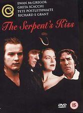 The Serpent's Kiss All Region DVD Ewan McGregor, Greta Scacchi, Pete NEW UK R2
