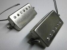 Humbucker Pickups PAF Nickel Silver RAW covers Vintage Gibson Custom Order