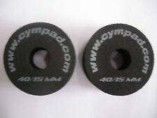 Cympad cymbal washers x2 made from cellular foam for longer life