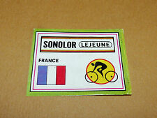 N°70 A SONOLOR FRANCE PANINI SPRINT 71 CYCLISME 1971 WIELRIJDER CICLISMO CYCLING