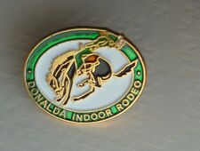 Donalda Alberta Canada Indoor Rodeo Lapel Hat Souvenir Pin