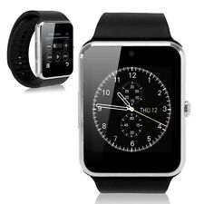 Silver GT08 Bluetooth Smart Watch Wrist Phone Mate TF&SIM For Andriod iPhone