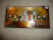 The Hobbit PEZ Candy Dispensers: 8 Piece Collector's Series - New/Other