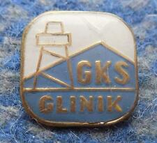 GLINNIK GORLICE POLAND FOOTBALL FUSSBALL SOCCER BASKETBALL 1970's BIG PIN BADGE