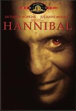 Hannibal  DVD Anthony Hopkins, Julianne Moore, Gary Oldman, Ray Liotta, Frankie