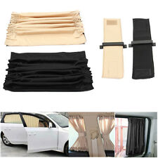 2PCS 70cmx47cm Car Auto Valance UV Sunshade Sun Shade Visor Side Window Curtain