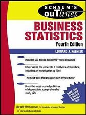 Schaum's Outline of Business Statistics Fourth Edition