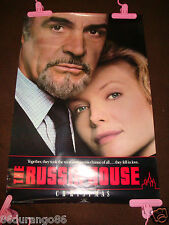 VINTAGE 1990 ORIGINAL MOVIE POSTER THE RUSSIA HOUSE SEAN CONNERY M PFEIFFER