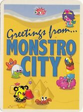 (20327) Postcard - Moshi Montsers - Monstro City
